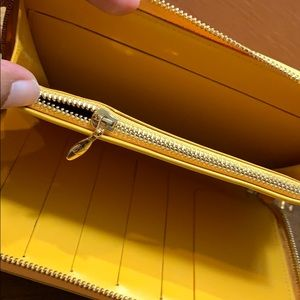 Louis Vuitton Bags - Louis Vuitton Compact wallet in Yellow Vernis